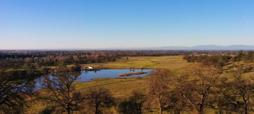 Horseshoe Lake from Maidu Trail - Upper Bidwell Park