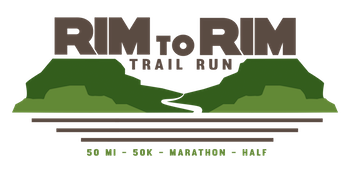 Rim To Rim Trail Run Logo